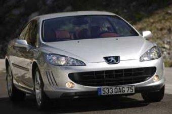 Elegantní Peugeot 407 Coupé stvrzuje filozofii svého výrobce