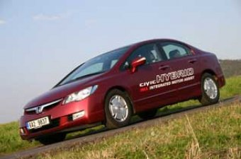 Honda Civic Hybrid - mission impossible (TEST)