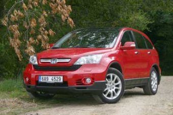 Honda CR-V + 2.2 i-CTDi = nejlepší volba (TEST)