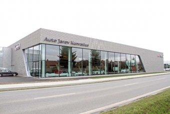 Moderní centrum AUDI v pražských Kunraticích (NOVINKA)