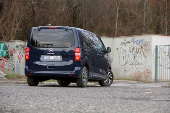 Citroen Spacetourer 2.0 BlueHDI – zdařilá alternativa k MPV